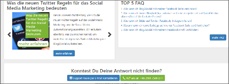 Wordpress Plugin Blog2social Lernhilfe