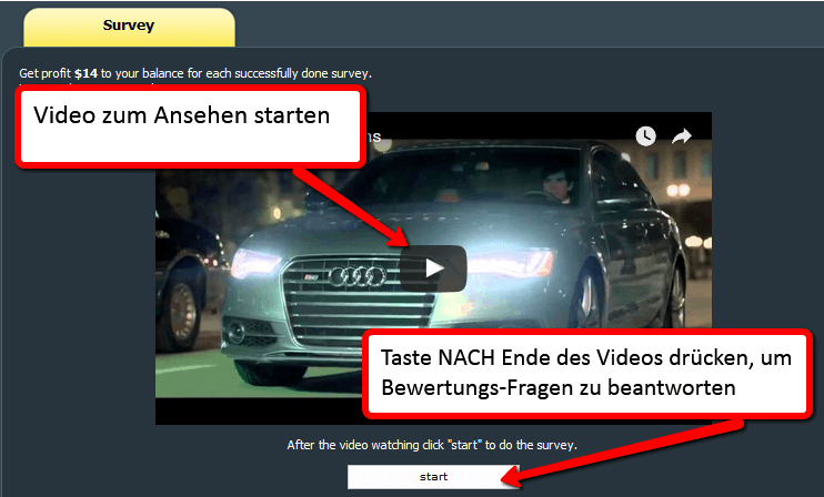 YouTube Video Bewertungsfragen
